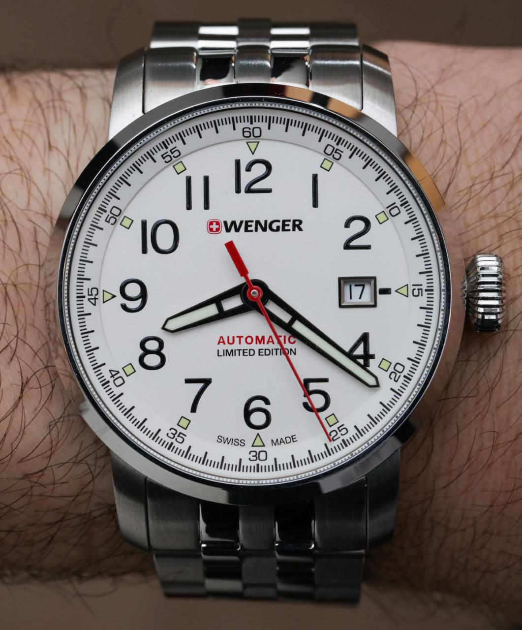 WATCH GIVEAWAY: Wenger Attitude Heritage Automatic Limited Edition Giveaways
