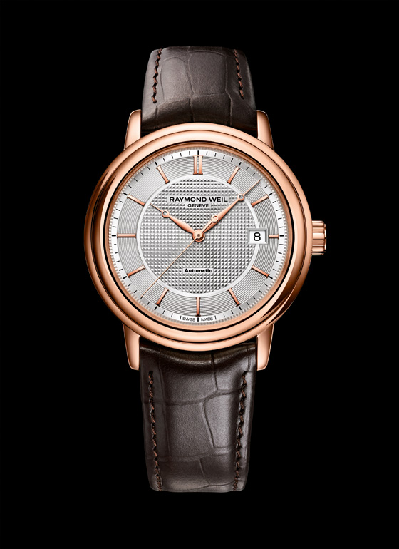 Raymond Weil Maestro Trois Aiguilles Or Rose