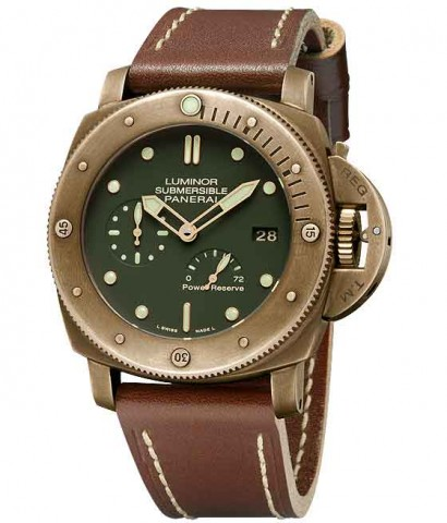 Luminor Submersible 1950 3 Days Power Reserve Automatic Bronzo 47 mm